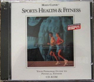 Sports Health & Fitness Windows CD from Mayo Clinic & ESPN
