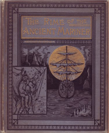 The Rime of the Ancient Mariner in 7 Parts by Samuel Taylor Coleridge 1884 Rare!