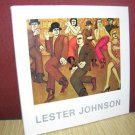 Lester Johnson: The Kaleidoscopic Crowd Paintings Figurative Prints (1975) Rare!
