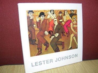 Lester Johnson: The Kaleidoscopic Crowd Paintings Figurative Prints (1975) Rare!