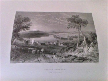 Mountain,Lake,and River: Series 25 Steel Line Engravings Bartlett, Willis 1884