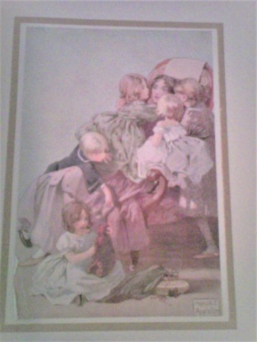 Children in Verse Edited by Thomas Burke with Amazing Color Plates (1913) Rare!