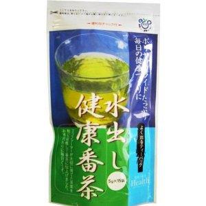 �� tea industry out water health Bancha tea bag 75g