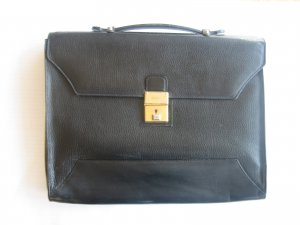 Black Bally Briefcase for Men or Women With Key