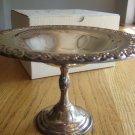 Silverplate Compote from Marshall Field's Original Gift Box