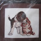 Janlynn Embroidery Kit First Love Puppy and Kitty Unopened Free Shipping