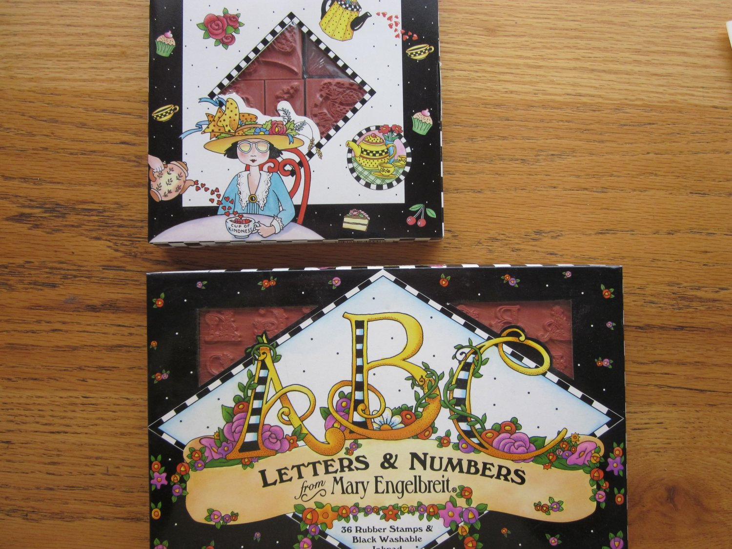 2 Boxes Mary Engelbreit Stamps New Free Shipping