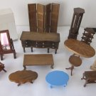 14 Pieces Sturdy Dollhouse Furniture