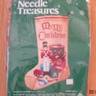 Needle Treasures Antique Toys Stocking Needlepoint Kit 06817  Sealed Free Shipping