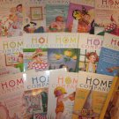 Lot 18 Mary Englebreit Home Companion Magazines With Paper Dolls