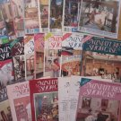 21 Issues of Miniatures Showcase Dollhouse Magazines 1986 thru 1991