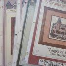 Victorians Across America Lot 31 Cross Stitch House Patterns Debbie Patrick Free Ship