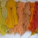 Paternayan Needlepoint Yarn Skeins in Warm Colors 13.7 oz