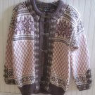 Vintage Dale of Norway Nordic Sweater Size 38 XS