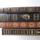 4 Literary Classics in Fine Bindings Dante Dickens Melville Bronte