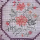 Needlepoint Canvas for Blue Porcelain Pillow