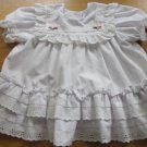 Polly Flinders 15 Months Hand Smocked White Dress Free Shipping