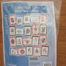 Counted Cross Stitch Kit to Make 20 Christmas Greeting Cards