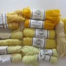 Elsa Williams Needlepoint/Tapestry Yarn Yellow Gold 11 Skeins
