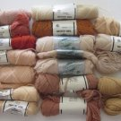 Elsa Williams Needlepoint/Tapestry Yarn Beige Peach Rust 16+ Skeins
