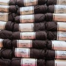 Elsa Williams Needlepoint/Tapestry Yarn Brown 24+ skeins
