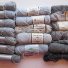 Elsa Williams Needlepoint / Tapestry Yarn Grey Shades 16 Skeins