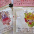 2 Lovely Little Me Finger Puppets Marks & Spencer Animal & Fairy Free Shipping