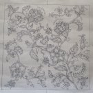 Hand Drawn Needlepoint Canvas Jacobean Elizabethan Floral