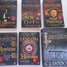 Books 6 Tudor Mysteries from Shardlake Series by C J Swanson
