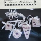 From Merry's Heart Grape Chatelaine Chart Cross Stitch Case Accessories