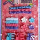 Girl Beauty Hair Accessories Set - Colorful Ponytail Holder Hair Clip Claw