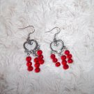 Lovely Red Earrings