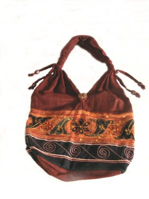 HANDCRAFTED PURSE FROM THAILAND