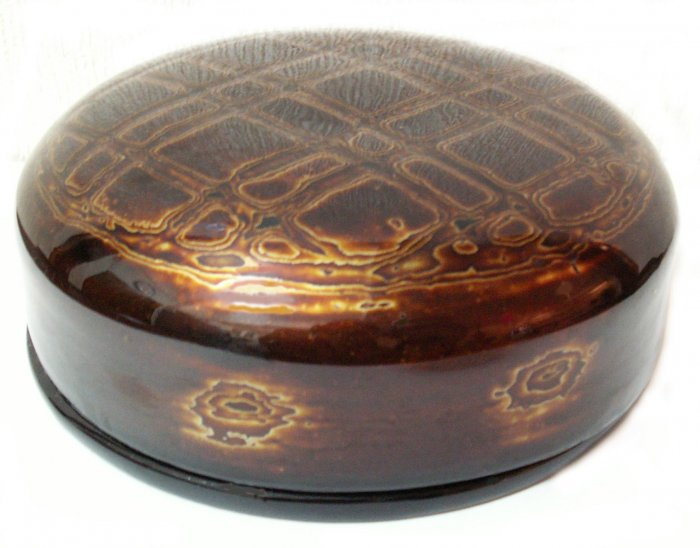 LACQUERED BOX HOLDING 6 COASTERS (DESIGN 1)