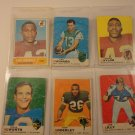 Topps 1968-69 Warfield, Adderly, Lilly, Taylor, Alworth, Maynard & commons fair