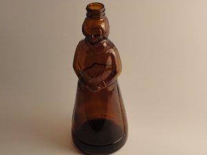 1972 Aunt Jemima ~ Amber Syrup Bottle