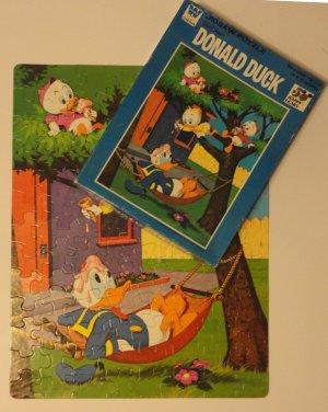 "Walt Disney "" Donald Duck "" Whitman Jigsaw Puzzle 4649 c.1973"