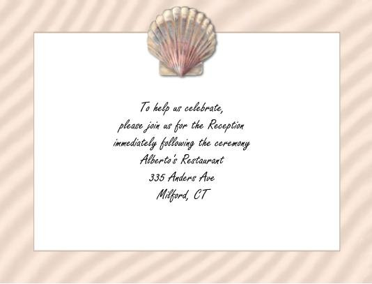 Shell reception cards