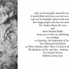 Frosted RosesWedding Invitations