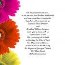 Gebrera Daisies Wedding Invitations