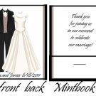Wedding Attire Mintbook / Mint matchbook