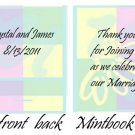 Pastels Mintbook / Mint Matchbook