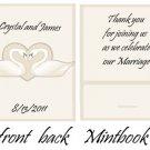 Swans Mintbooks / Mint Matchbooks