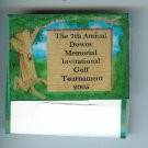 Custom Personalized Golf Tee Books (4 tees)