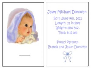 Personalized Golf Tee Books (2 tees)