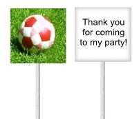 Soccer lollipops