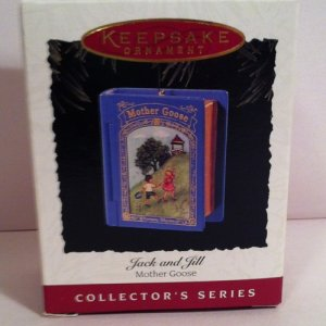 Hallmark Ornament 1995 - Jack and Jill Mother Goose #3 - Handcrafted Keepsake
