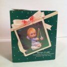 Vintage~BETSEY CLARK~1983~Hallmark Porcelain Ornament~Star~No Box