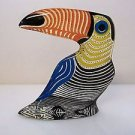 VTG Abraham Palatnik Lucite Acrylic Parrot Toucan Bird Sculpture Figurine 2582