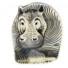 RARE Abraham Palatnik Lucite Acrylic Hippopotamus Hippo Sculpture Figurine 2408